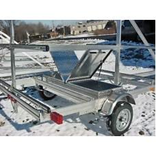 "Trailex, Aluminum Box For Paddles & Life Jackets (74"" L X 22"" W X 11"" D) For UT-1200SK-04, UT-1200-16-04"