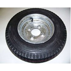 "Trailex, Spare 4.80 X 8"" CLR Tire On 4-Hole Galvanized Wheel"