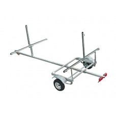 Trailex Aluminum Trailer, Two Canoe Or Four Kayak Carrier