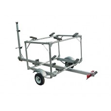 Trailex Aluminum Trailer, Multiple Carrier