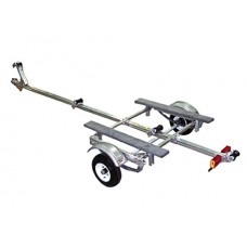 Trailex Aluminum Trailer, Single Medium Duty Carrier