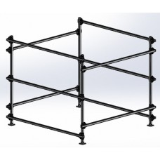 Dynamic Dollies, 3 Boat Box Storage Rack