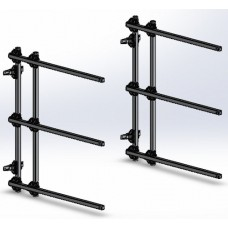 Dynamic Dollies, 3 Canoe / Kayak Hanging Rack