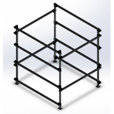 Dynamic Dollies, 4 Boat Box Storage Rack
