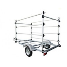 Dynamic Dollies, 8 Optimist Trailer Rack
