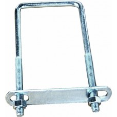 Dynamic Dollies, U-Bolt with Plates for Trailer Racks