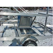 "Trailex, Aluminum Box For Paddles & Life Jackets (67 1/2"" L X 22"" W X 11"" D) For UT-1000-6-04, UT-1000-8-04 Only"
