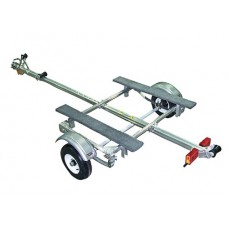Trailex Aluminum Trailer, Single Light Duty Carrier
