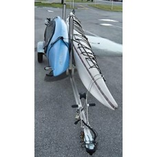 Trailex, Kit To Convert Single (SUT-350-S) To 2 Kayak Carrier