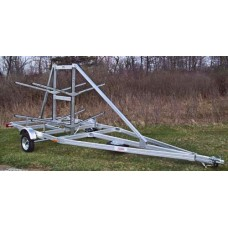 Trailex Aluminum Trailer, 16 Kayak Carrier